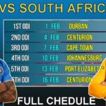 India vs South Africa 3rd ODI Live Stream 2018