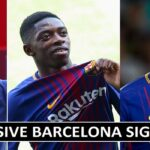 7 Barcelona Most Expensive Window Transfer Signings (Leaked)