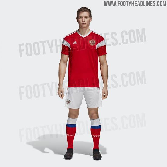 FIFA World Cup 2018 Team Kits Uniform (All 32 Teams) 34bdefc2a