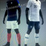 France Team Kit/Jersey For FIFA World Cup 2018