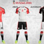 FIFA World Cup 2018 Team Kits/Uniform (All 32 Teams)
