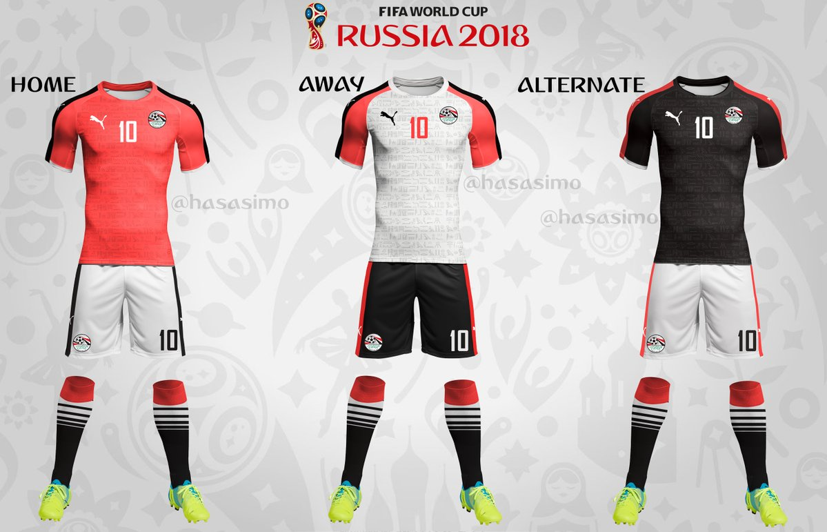 8267e555f FIFA World Cup 2018 Team Kits Uniform (All 32 Teams)