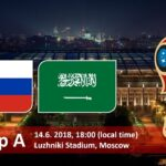 Russia vs Saudi Arabia Live Stream FIFA World Cup 2018