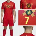 Belgium Team Kit/Jersey World Cup 2018 (Official Release)
