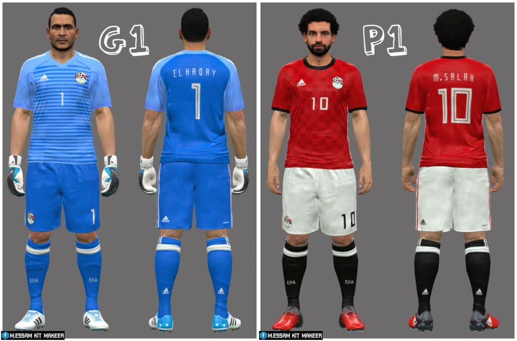 f21a7f753cd Egypt Team Kit/Jersey World Cup 2018 (Official Release)
