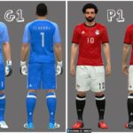 Egypt Team Kit/Jersey World Cup 2018 (Official Release)