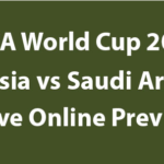 Russia vs Saudi Arabia Live Stream Online – June 14, 2018