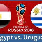 Egypt vs Uruguay Live Stream FIFA World Cup – June 15, 2018