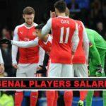 Arsenal Players Salaries 2018