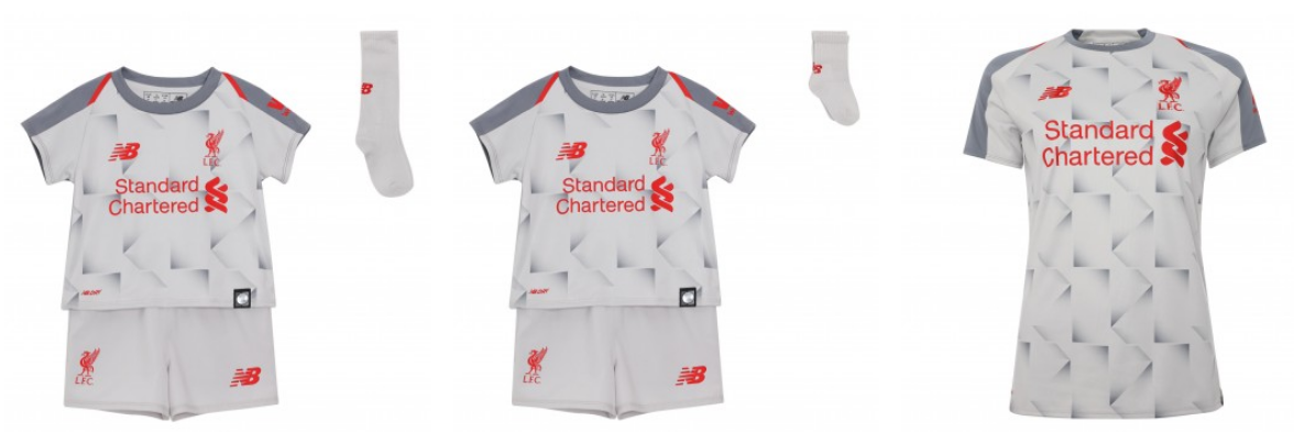 hot sale online 3a0a3 36639 Liverpool Team Kit Home & Away Home 2018-19 (Leaked)