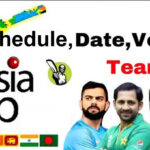 Asia Cup 2018 Warm Up Matches Schedule, Time Table and Fixture