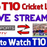 T10 Cricket League 2018 Live Streaming Online Free