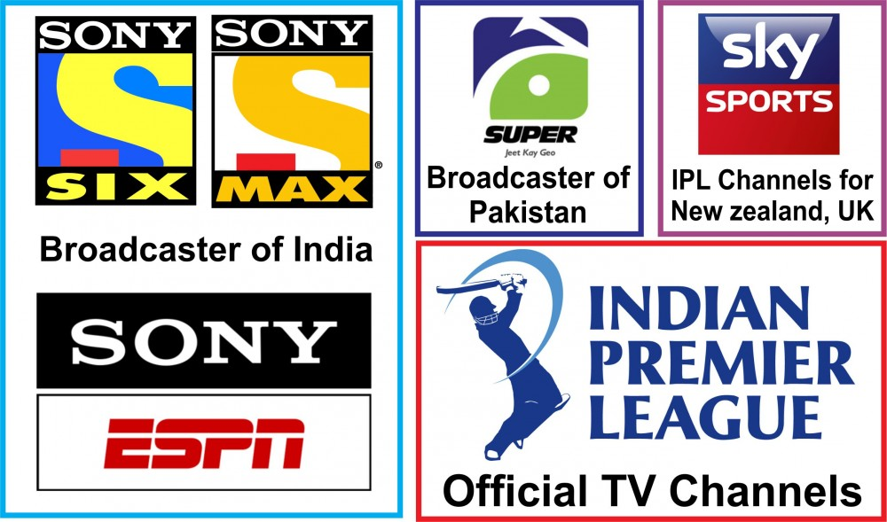 IPL 2019 TV Channels Broadcasting List - Where to Watch IPL 12 Live Tv?