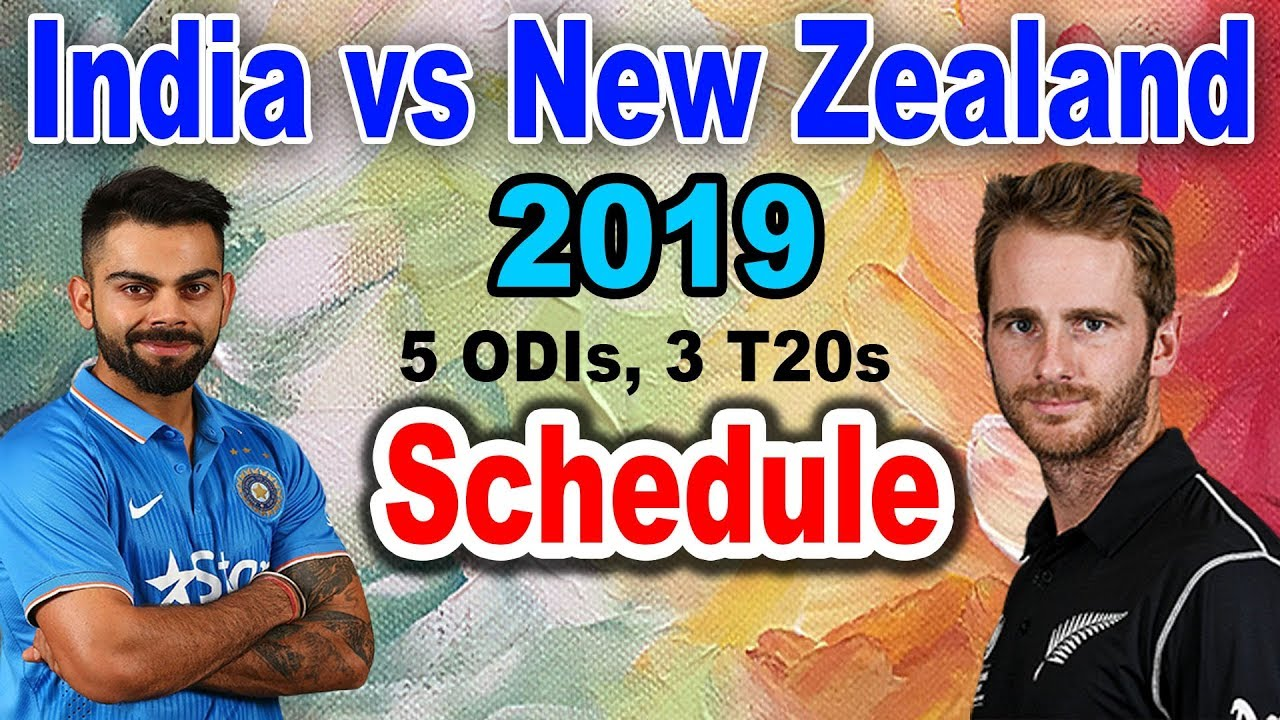 India Vs New Zealand Schedule 2019, Live Streaming & Global Tv Live