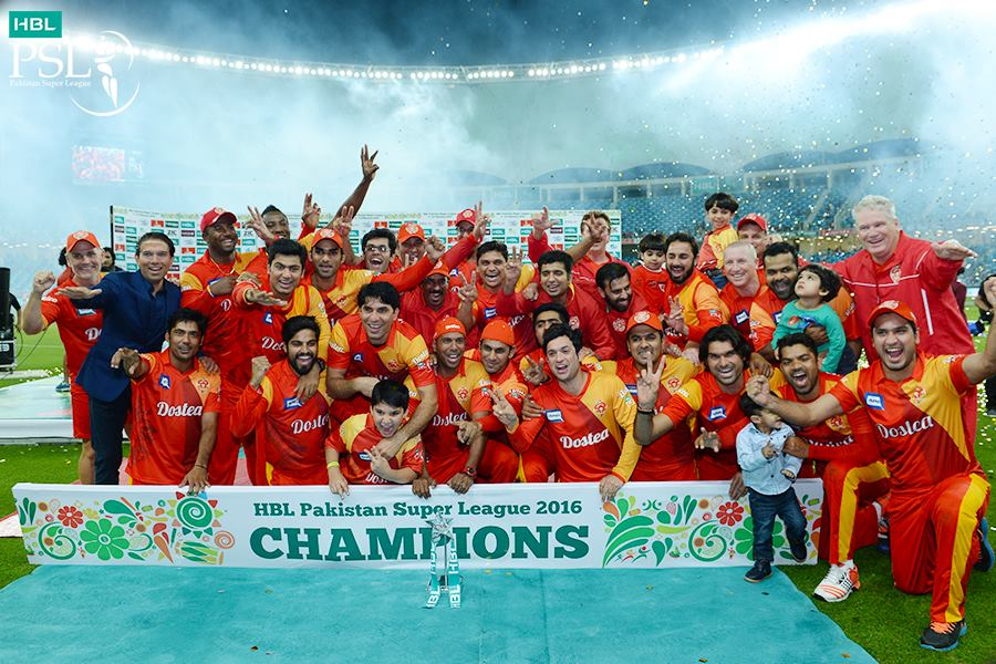 "Islamabad United "" The Champions"""