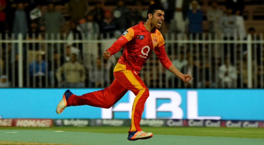 Shadab Khan Vice Captain of Islamabad United