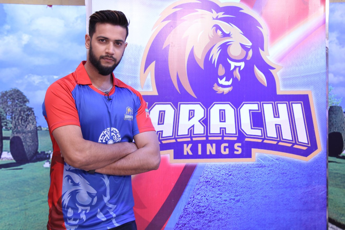 Karachi Kings Captain Imad Wasim
