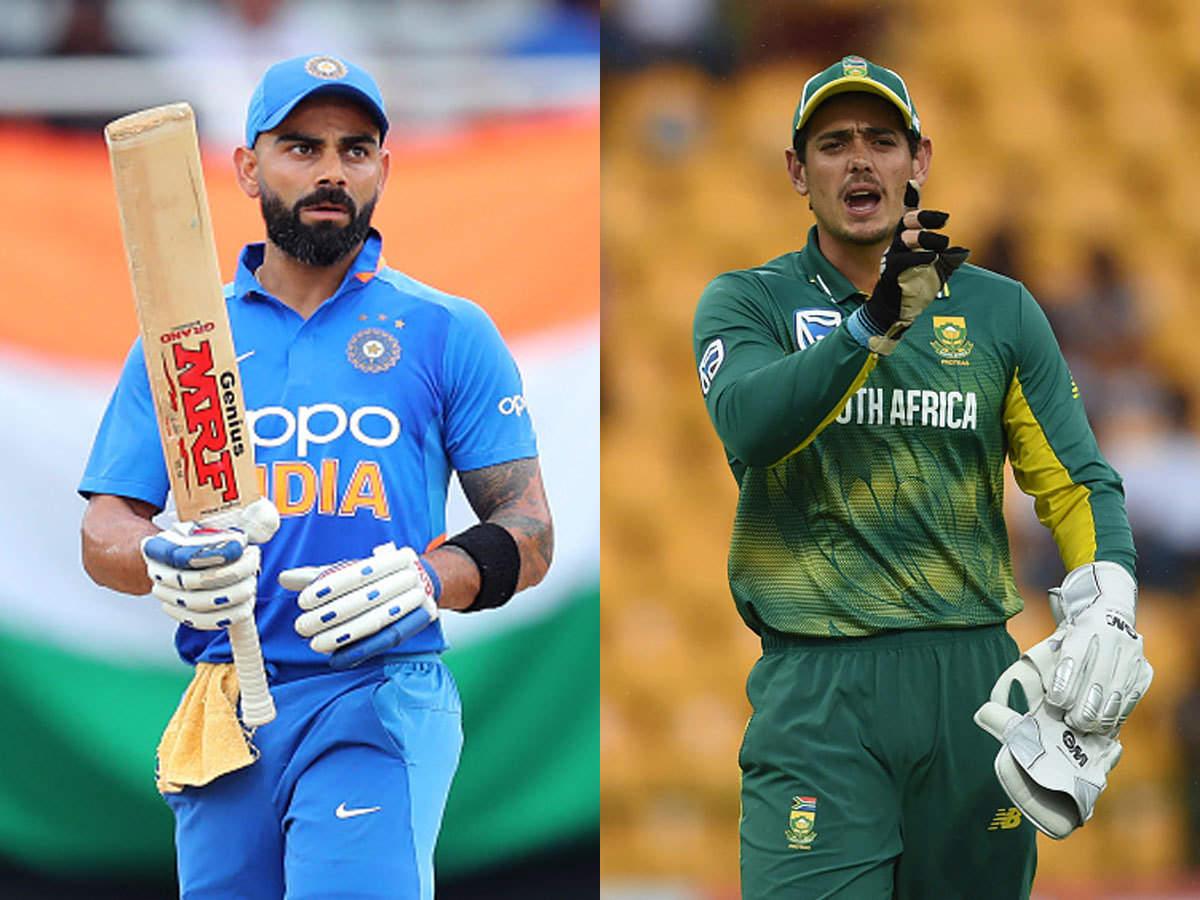 India Vs South Africa 1st ODI Live Cricket Scorecard 12