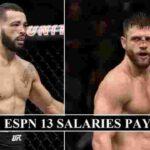 UFC Fight Night: Kattar vs Ige Purse Payouts & Fighter Salaries - UFC on ESPN 13 Fighter Earnings