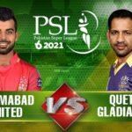 Quetta vs Islamabad Live Score